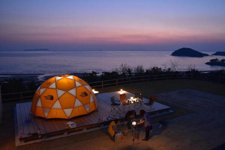 瀬戸内海の自然を満喫できるグランピング施設のスタッフを募集!